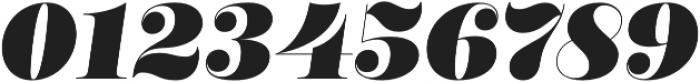 Encorpada Classic Black Italic otf (900) Font OTHER CHARS