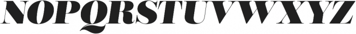 Encorpada Classic Black Italic otf (900) Font UPPERCASE