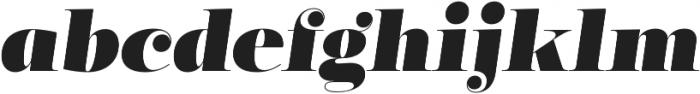 Encorpada Classic Black Italic otf (900) Font LOWERCASE