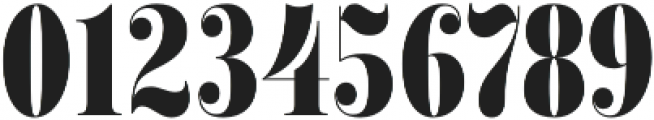 Encorpada Classic Compressed ExtraBold otf (700) Font OTHER CHARS