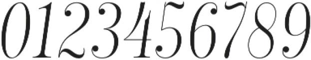 Encorpada Classic Compressed Light Italic otf (300) Font OTHER CHARS