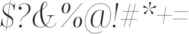 Encorpada Classic Condensed Light Italic otf (300) Font OTHER CHARS