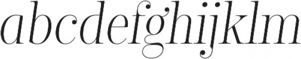 Encorpada Classic Condensed Light Italic otf (300) Font LOWERCASE