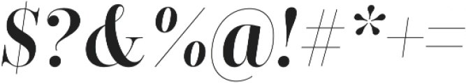 Encorpada Classic Condensed SemiBold Italic otf (600) Font OTHER CHARS