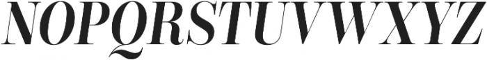 Encorpada Classic Condensed SemiBold Italic otf (600) Font UPPERCASE