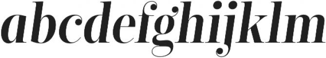 Encorpada Classic Condensed SemiBold Italic otf (600) Font LOWERCASE