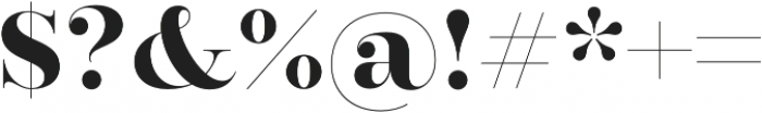 Encorpada Classic otf (700) Font OTHER CHARS
