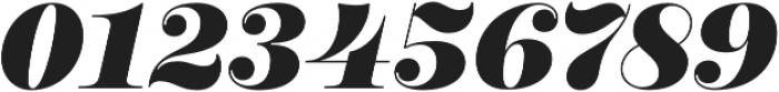 Encorpada Pro ExtraBold Italic otf (700) Font OTHER CHARS