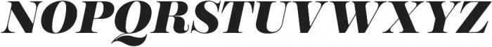 Encorpada Pro ExtraBold Italic otf (700) Font UPPERCASE