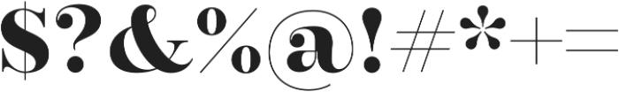 Encorpada Pro otf (700) Font OTHER CHARS