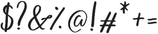Endestry Regular otf (400) Font OTHER CHARS