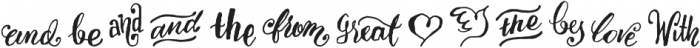EndlessSorrow otf (400) Font UPPERCASE