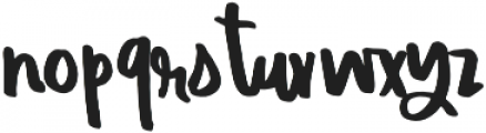 EndlessSummer Script otf (400) Font UPPERCASE