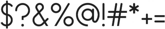 Endura Light ttf (300) Font OTHER CHARS