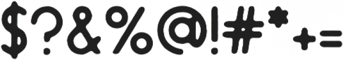 Endura Rough ttf (400) Font OTHER CHARS