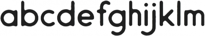 Endura Rough ttf (400) Font LOWERCASE