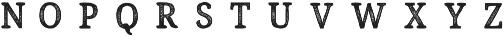 Endurest Distant otf (400) Font UPPERCASE