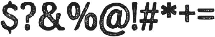 Endurest otf (400) Font OTHER CHARS