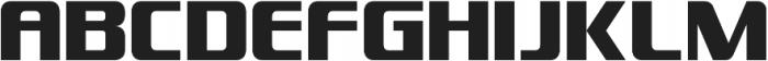 Enforcer otf (400) Font LOWERCASE