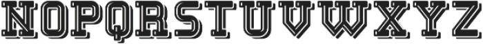 EngineerFont LightShadow otf (300) Font LOWERCASE