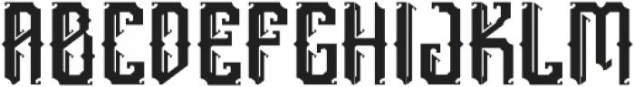 England otf (400) Font UPPERCASE