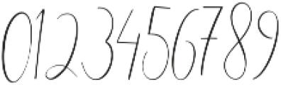 England thin Regular otf (100) Font OTHER CHARS