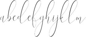 England thin Regular otf (100) Font LOWERCASE