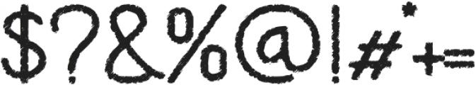 EnglishSignatureSans otf (400) Font OTHER CHARS