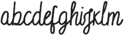 English_Castles otf (400) Font LOWERCASE
