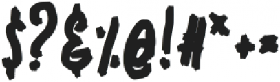 Enicye otf (400) Font OTHER CHARS