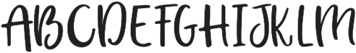 Enmity Regular otf (400) Font UPPERCASE