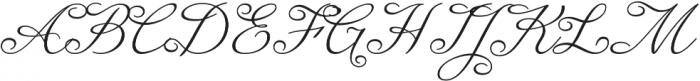 Enocenta Light otf (300) Font UPPERCASE