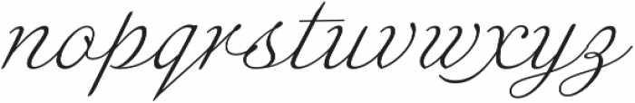 Enocenta Light otf (300) Font LOWERCASE