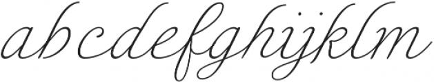 Enocenta Thin otf (100) Font LOWERCASE