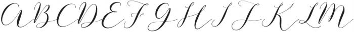 Enough otf (400) Font UPPERCASE