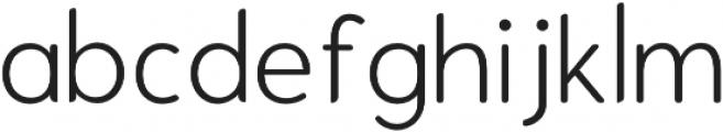 Enrique Light otf (300) Font LOWERCASE