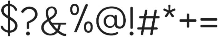 Enrique Light ttf (300) Font OTHER CHARS