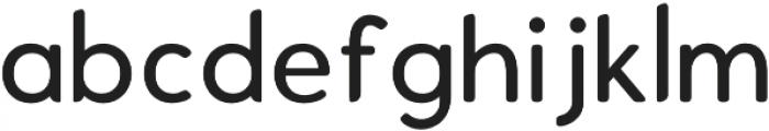 Enrique Medium otf (500) Font LOWERCASE