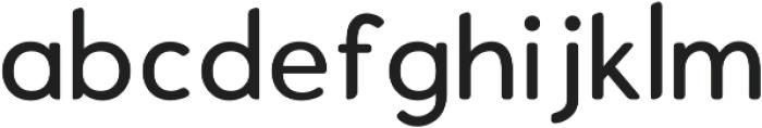 Enrique Medium ttf (500) Font LOWERCASE