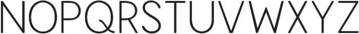 Enrique Thin ttf (100) Font UPPERCASE