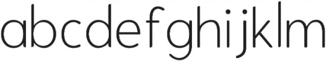 Enrique Thin ttf (100) Font LOWERCASE