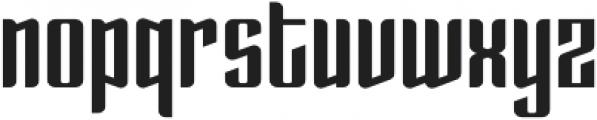 Enza otf (700) Font LOWERCASE