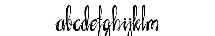 AXR Luvdove Font LOWERCASE