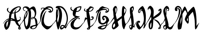 AXRLuvdove Font UPPERCASE