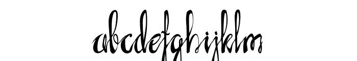 AXRLuvdove Font LOWERCASE