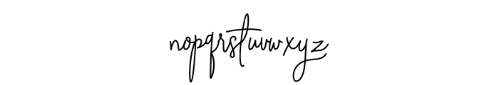 Absolute Nature Font LOWERCASE