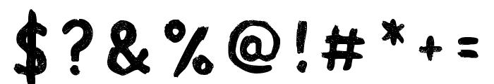 Acrylic Hand Sans Regular Font OTHER CHARS