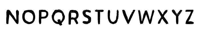 Acrylic Hand Sans Regular Font LOWERCASE