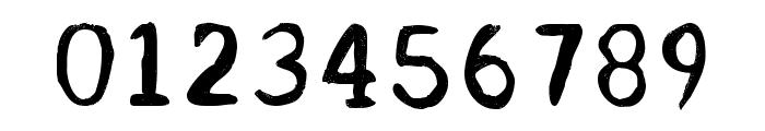 Acrylic Hand Serif Regular Font OTHER CHARS