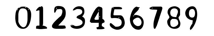 Acrylic Hand Serif SVG Regular Font OTHER CHARS